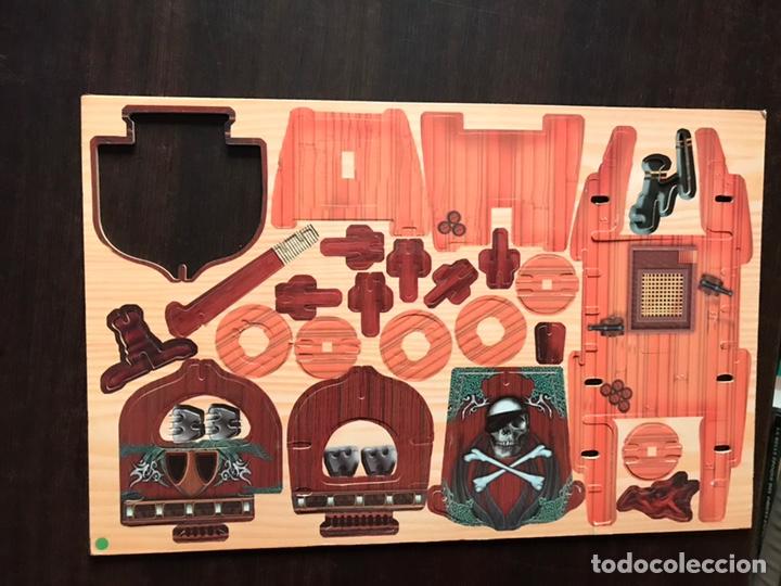Libros de segunda mano: Piratas. Libros para construir. Con las piezas . Falta un componente . Ver fotos. - Foto 10 - 180245226