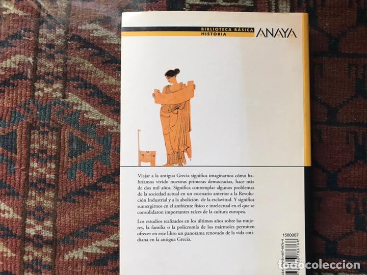 Libros de segunda mano: Así vivieron en la antigua Grecia. Raquel López. Como nuevo - Foto 2 - 180245503
