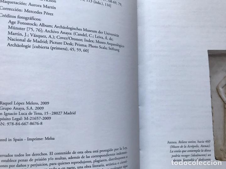Libros de segunda mano: Así vivieron en la antigua Grecia. Raquel López. Como nuevo - Foto 4 - 180245503