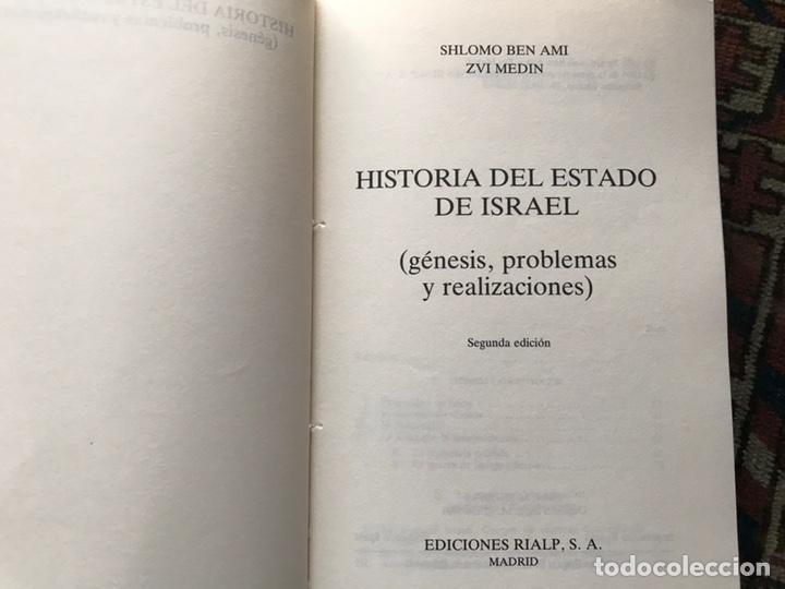 Libros de segunda mano: Historia del Estado de Israel. Shlomo Ben Ami. Buen estado - Foto 6 - 180245553