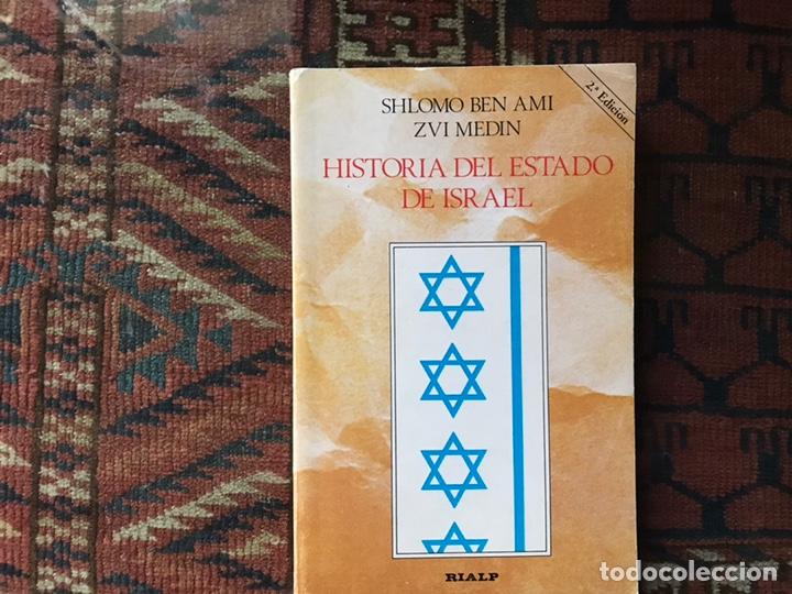 HISTORIA DEL ESTADO DE ISRAEL. SHLOMO BEN AMI. BUEN ESTADO (Libros de Segunda Mano - Historia - Otros)