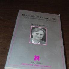 Libros de segunda mano: DESTEJIENDO EL ARCO IRIS. RICHARD DAWKINS. Lote 180251257