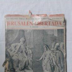 Libros de segunda mano: JERUSALÉN LIBERTADA - TASSO, LAS GRANDES OBRAS DE LA LITERATURA UNIVERSAL. Lote 179548337