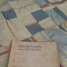 Libros de segunda mano: PRACTICAS DE TALLER. RAMA DEL METAL. PRIMER CURSO APRENDIZAJE INDUSTRIAL. 1959. F.P.INDUSTRIAL. Lote 180256505