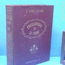Libros de segunda mano: ENCICLOPEDIA DE LA CARNE: PRODUCCIÓN-COMERCIO-INDUSTRIA-HIGIENE. SANZ EGAÑA, C.. Lote 180257351