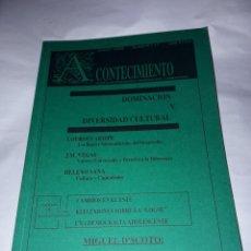 Libros de segunda mano: ACONTECIMIENTO NR 17. ÓRGANO DE EXPRESIÓN DEL INSTITUTO EMMANUEL MOUNIER. JUNIO 1990.. Lote 180264828