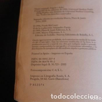 Libros de segunda mano: las cenizas de angela - Foto 2 - 180271633