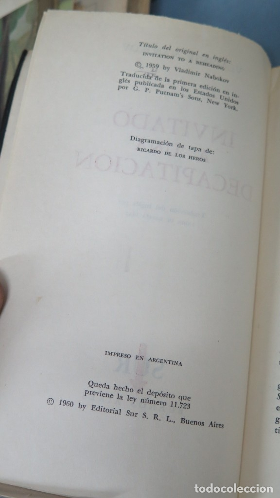 Libros de segunda mano: INVITADO A UNA DECAPITACION. VLADIMIR NABOKOV - Foto 2 - 180278716