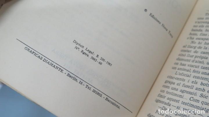 Libros de segunda mano: LA MÀ CONTRA L' HORITZÓ. MANUEL PEDROLO - Foto 3 - 180278901