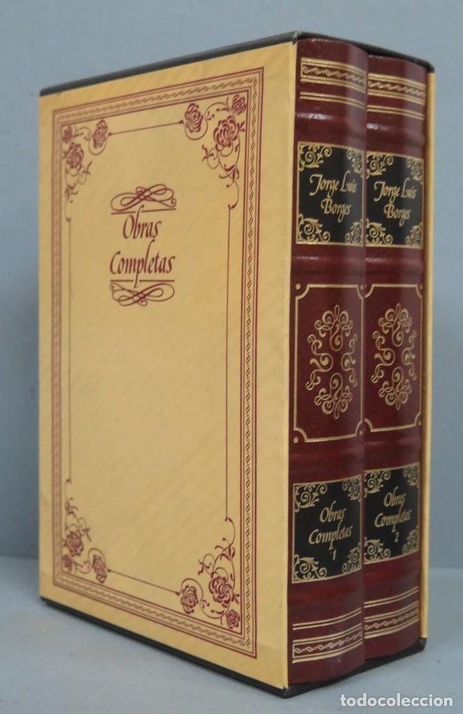 OBRAS COMPLETAS. JORGE LUIS BORGES. CIRCULO DE LECTORES-EMECE. 2 TOMOS (Libros de Segunda Mano (posteriores a 1936) - Literatura - Otros)