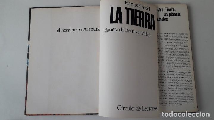 Libros de segunda mano: LA TIERRA, PLANETA DE LAS MARAVILLAS. HANNS KNEIFEL. - Foto 2 - 180286850