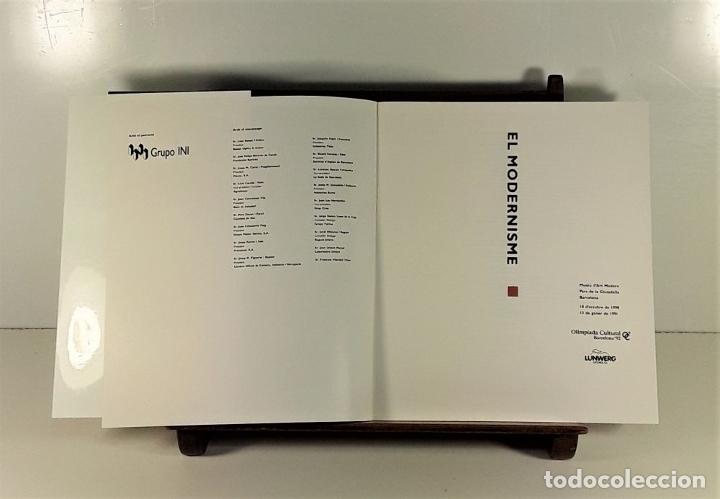Libros de segunda mano: EL MODERNISME. TOMOS I Y II. VARIOS AUTORES. EDIT. LUNWERG. BARCELONA. SIGLO XX. - Foto 4 - 180298221