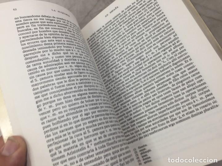 Libros de segunda mano: La Alquimia en España por D. José Ramón de Luanco. Colección Alatar. Madrid 1980 - Foto 7 - 180314658