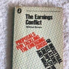 Libros de segunda mano: THE EARNINGS CONFLICT. Lote 180331278