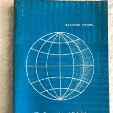 Libros de segunda mano: THE ECONOMIC AND POLÍTICAL CONSEQUENCES OF MULTINATIONAL ENTERPRISE. Lote 180331398