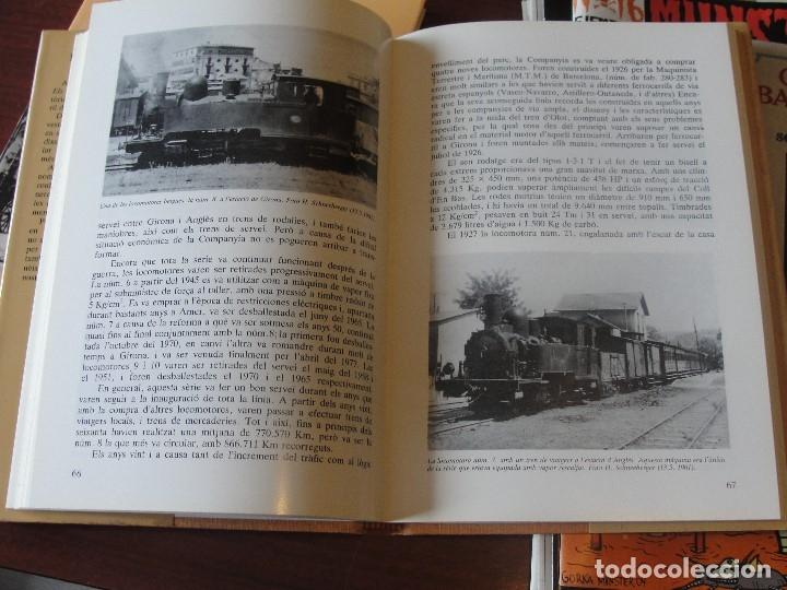Libros de segunda mano: EL TREN D´ OLOT / CARLES SALMERON - FERROCARRIL OLOT / GIRONA - STOCK DE LLIBRERIA !!! - Foto 2 - 180348135