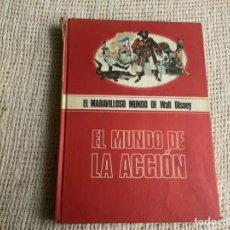 Libros de segunda mano: EL MARAVILLOSO MUNDO DE WALT DISNEY, EL MUNDO DE LA ACCION -ED. BURU LAN EDICIONES, AÑO 1971. Lote 180349250