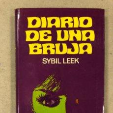 Libros de segunda mano: DIARIO DE UNA BRUJA. SYBIL LEEK. EDICIONES PICAZO 1973. 240 PÁGINAS. TAPA DURA CON SOBRECUBIERTA.. Lote 180419157