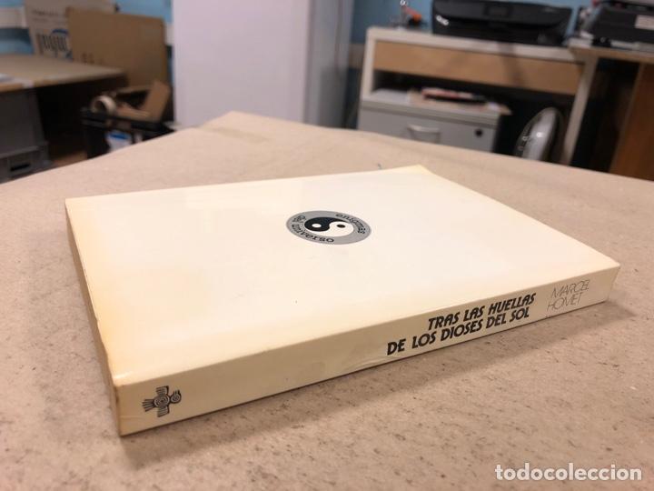 Libros de segunda mano: TRAS LAS HUELLAS DE LOS DIOSES DEL SOL. MARCEL HOMET. EDICIONES DAIMON 1977. ENIGMAS DEL UNIVERSO - Foto 8 - 180422832