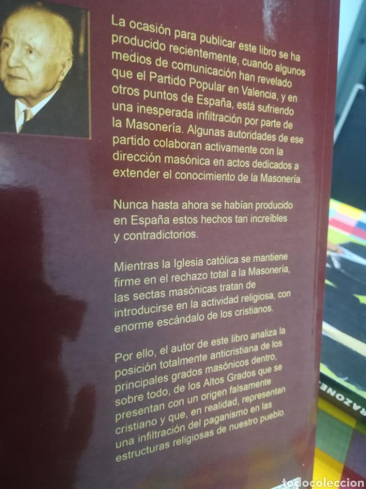 Libros de segunda mano: Los rituales secretos de la masonería anticristiana Ricardo de la Cierva Editorial Fénix 2010 - Foto 2 - 180424327