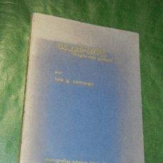 Libros de segunda mano: GLOBEMAGIC, DE LUIS G. CAMARGO - MONOGRAFIAS MISDIRECTION 1971. Lote 180278663