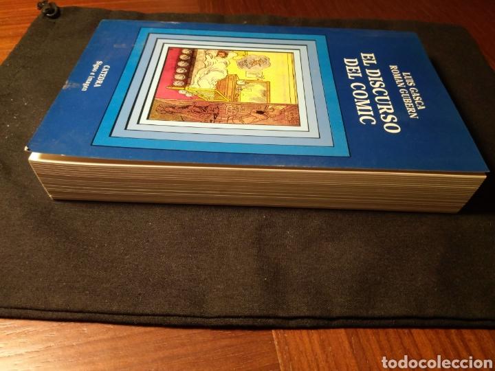 Libros de segunda mano: El discurso del comic. Luis Gasca, Roman Gubern - Foto 2 - 180425820