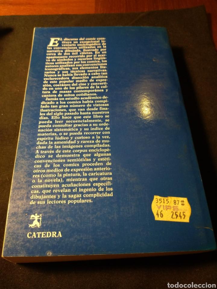 Libros de segunda mano: El discurso del comic. Luis Gasca, Roman Gubern - Foto 3 - 180425820