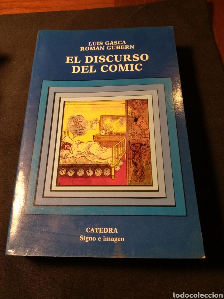 EL DISCURSO DEL COMIC. LUIS GASCA, ROMAN GUBERN (Libros de Segunda Mano - Bellas artes, ocio y coleccionismo - Otros)