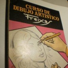 Libros de segunda mano: CURSO DE DIBUJO ARTÍSTICO FREIXAS GRADO MEDIO. 1975 (EN ESTADO NORMAL). Lote 180427132