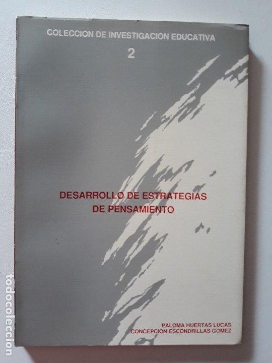 DESARROLLO DE ESTRATEGIAS DE PENSAMIENTO. AYUNTAMIENTO DE CARTAGENA, 1988. (Libros de Segunda Mano - Pensamiento - Otros)
