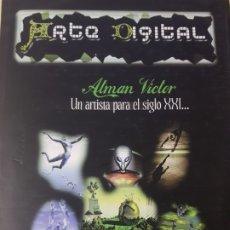 Libros de segunda mano: ARTE DIGITAL: ATMAN VICTOR, UN ARTÍSTA PARA EL SIGLO XXI.... Lote 180428498