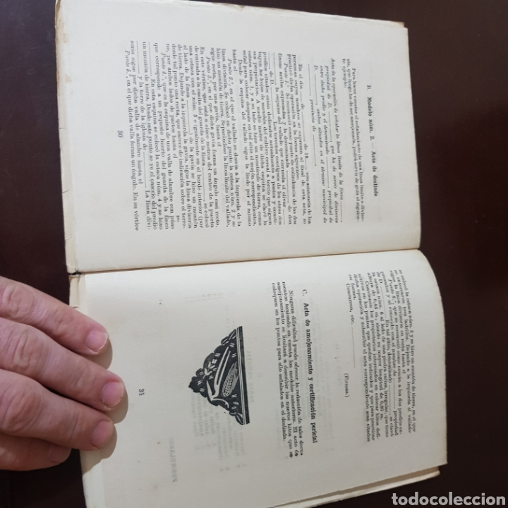 Libros de segunda mano: CATECISMO DEL AGRICULTOR Y GANADERO 126 DESLINDES Y AMOJONAMIENTOS - Foto 4 - 180428816