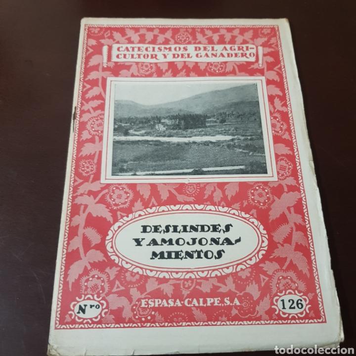 Libros de segunda mano: CATECISMO DEL AGRICULTOR Y GANADERO 126 DESLINDES Y AMOJONAMIENTOS - Foto 6 - 180428816