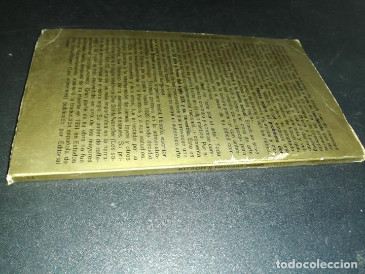 Libros de segunda mano: Herman broch, kitsch, vanguardia y arte por el arte - Foto 5 - 180431177