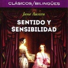 Libros de segunda mano: SENTIDO Y SENSIBILIDAD. AUSTEN, JANE. BILIN-035. Lote 180455702