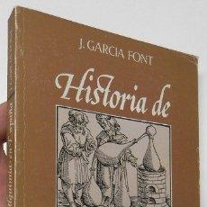 Libros de segunda mano: HISTORIA DE LA ALQUIMIA EN ESPAÑA - J. GARCÍA FONT. Lote 180473775