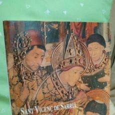 Libros de segunda mano: SANT VICENÇ DE SARRIÀ DE BARCELONA. 1987.. Lote 180485431