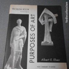 Libros de segunda mano: PURPOSES OF ART. Lote 180488956