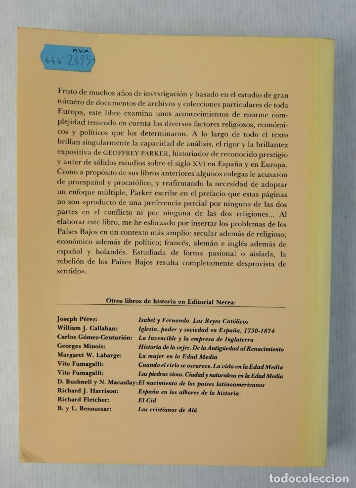 Libros de segunda mano: España y la rebelión de Flandes-Geoffrey Parker-Editorial Nerea,1989 - Foto 2 - 180499403