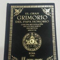 Libros de segunda mano: EL GRAN GRIMORIO DEL PAPA HONORIO - TDK131. Lote 180508442