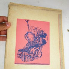 Libros de segunda mano: DIFICILISIMO! LIBRO FALLERO. JUNTA CENTRAL FALLERA. VALENCIA, 1944 FALLAS DE SAN JOSE. Lote 180510418