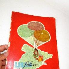 Libros de segunda mano: DIFICILISIMO! LIBRO FALLERO. JUNTA CENTRAL FALLERA. VALENCIA, 1954 FALLAS DE SAN JOSE. Lote 180512460