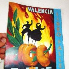 Libros de segunda mano: DIFICILISIMO! LIBRO FALLERO. JUNTA CENTRAL FALLERA. VALENCIA, 1960 FALLAS DE SAN JOSE. Lote 180512753