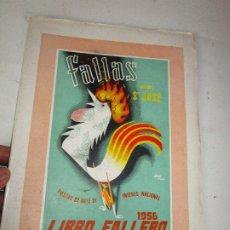 Libros de segunda mano: DIFICILISIMO! LIBRO FALLERO. JUNTA CENTRAL FALLERA. VALENCIA, 1956 FALLAS DE SAN JOSE. Lote 180512811