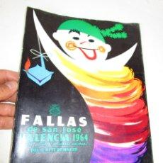 Libros de segunda mano: LIBRO FALLERO. JUNTA CENTRAL FALLERA. VALENCIA, 1962 FALLAS DE SAN JOSE. Lote 180513206