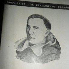 Livres d'occasion: DOCTRINA INTERNACIONAL, ANTOLOGÍA, FRANCISCO DE VITORIA. Lote 180854722