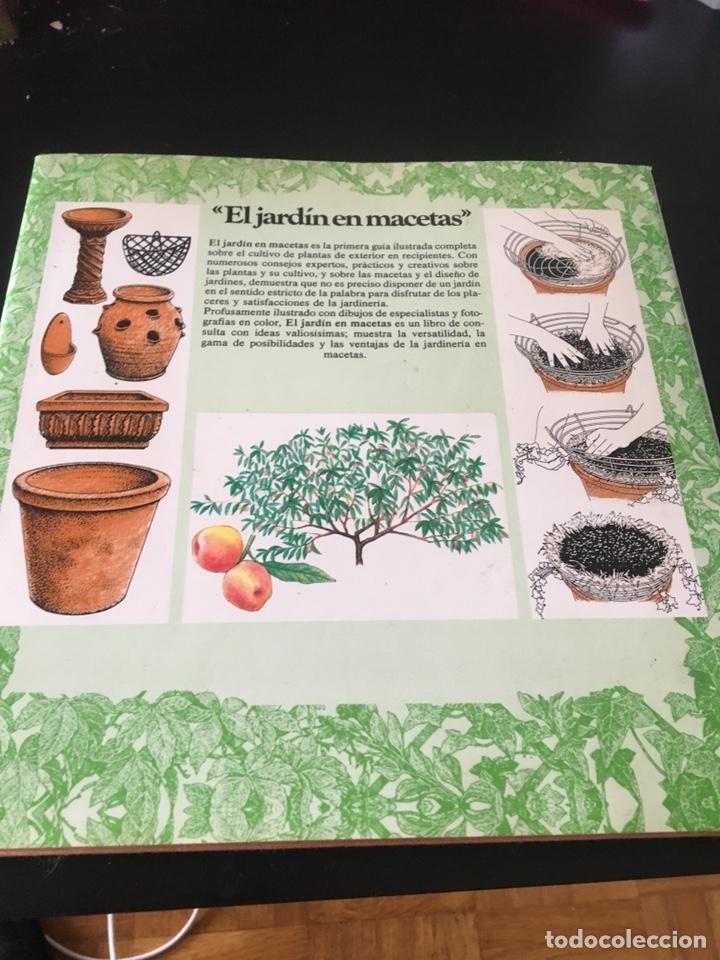Libros de segunda mano: EL JARDÍN ENTRE MACETAS GUÍA ILUSTRADA PARA EL CUIDADO DE LAS PLANTAS - Foto 6 - 180862612
