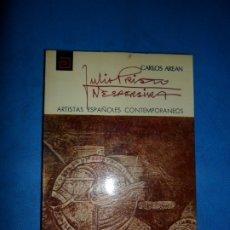 Libros de segunda mano: JULIO PRIETO NESPEREIRA, CARLOS AREAN, ED. DIRECCIÓN GENERAL DE BELLAS ARTES. Lote 180875562