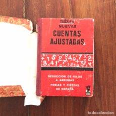 Libros de segunda mano: TABLAS NUEVAS. CUENTAS AJUSTADAS.. Lote 180887882
