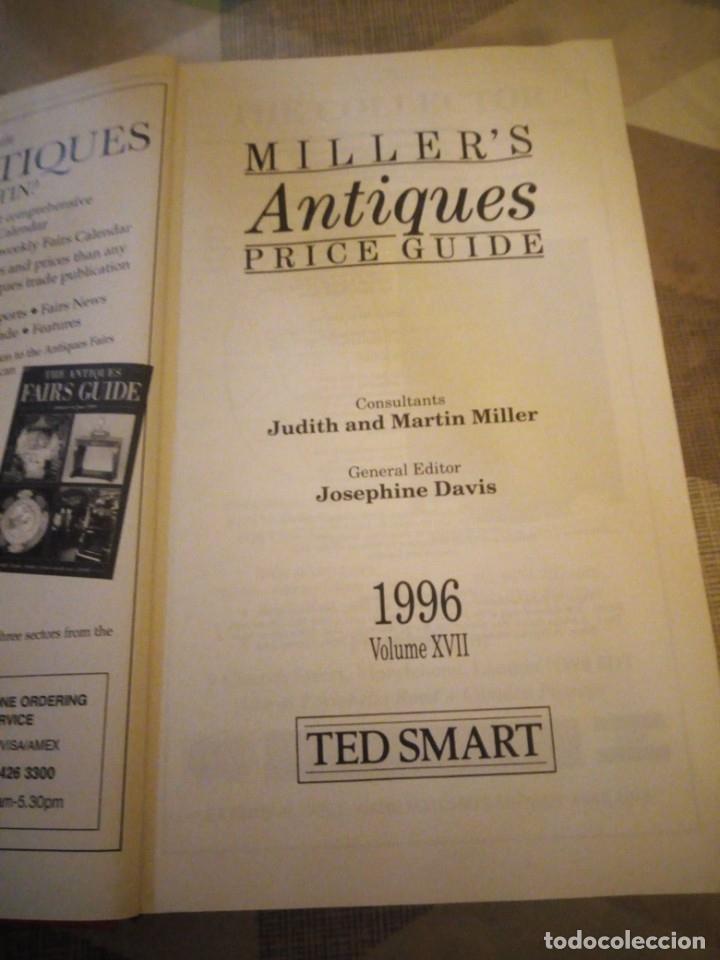 Libros de segunda mano: libro MILLERS ANTIQUES PRICE GUIDE. 1996. LONDON,guia de precios. - Foto 3 - 180897802